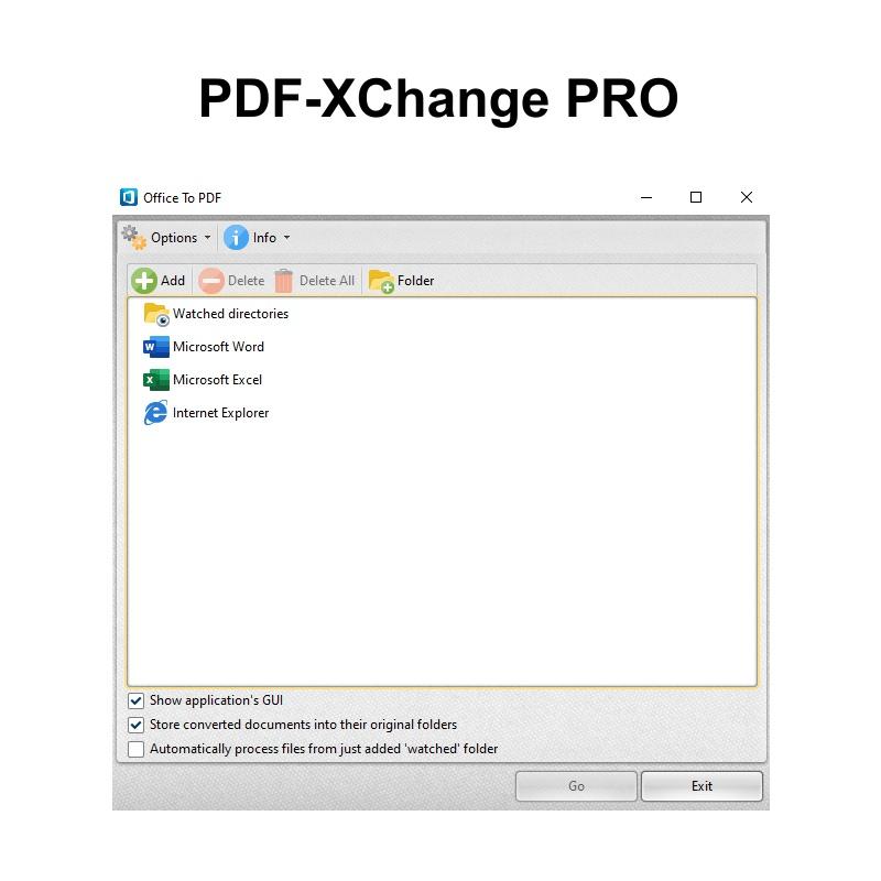 PDF-XChange Pro - 1 uživatel